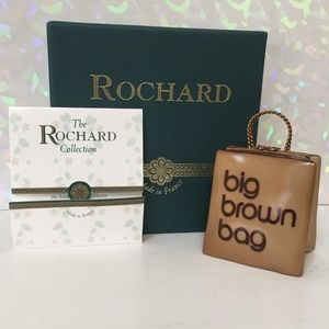 Limoges Rochard Box Bloomingdale Little Brown Bag